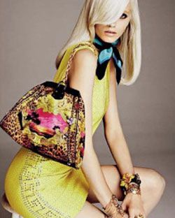 Abbey Lee Kershaw in pieces from the line for Russian <em>Vogue</em>