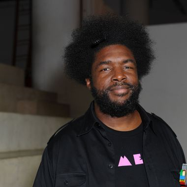 """Author/Musiian Ahmir """"Questlove"""" Thompson attends the Ahmir """"Questlove"""" Thompson """"Mo' Meta Blues"""" Book Launch Event at PowerHouse Arena on June 20, 2013 in New York City."""