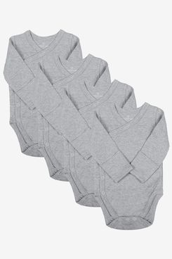 Goobie Baby Side-Snap Kimono Bodysuit (Set of 4)