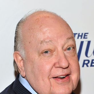 Roger Ailes, President of Fox News Channel attends the Hollywood Reporter celebration of