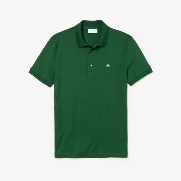 Lacoste Slim-Fit Polo Shirt in Stretch Petit Piqué