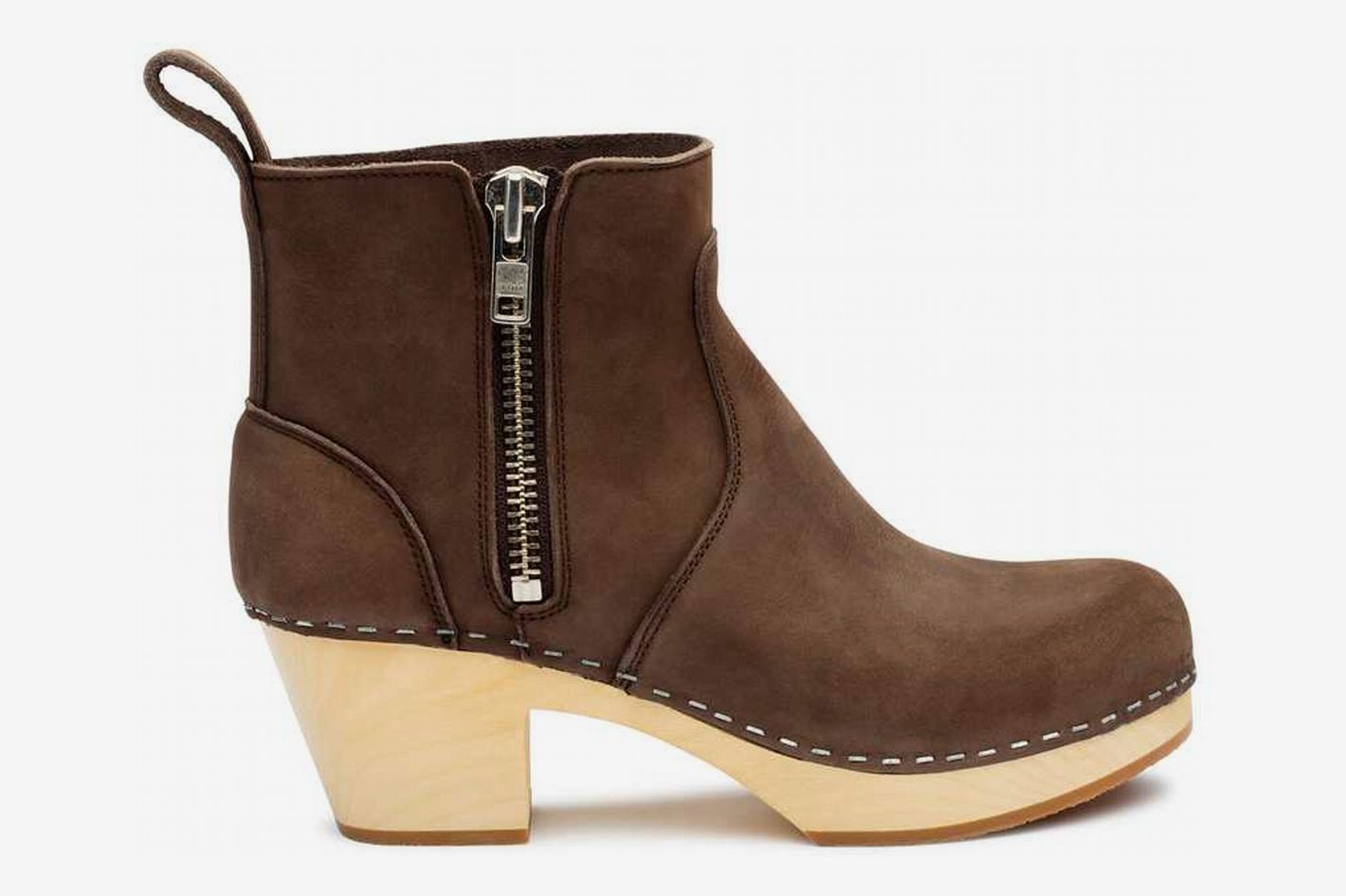 Zip It Emy in Chocolate Nubuck