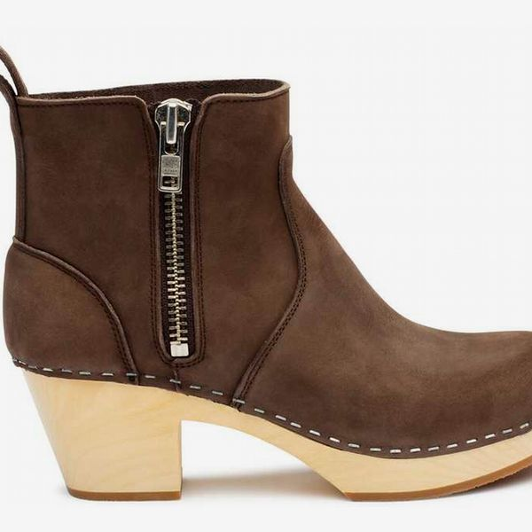Zip It Emy in Chocolate Nubuck - strategist best zip it chocolate brown nubuck boot with zipper