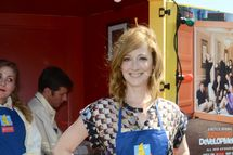 """LOS ANGELES, CA - MAY 20: Judy Greer appears at the """"Arrested Development"""" Bluth's Original Frozen Banana Stand First Los Angeles Location Opening on May 20, 2013 in Los Angeles, California. (Photo by Araya Diaz/Getty Images)"""