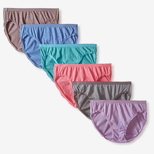 Fruit of the Loom Women's Underwear Beyond Soft Panties