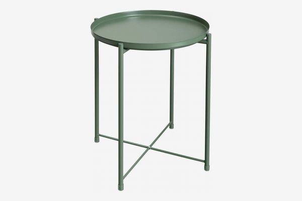 HollyHOME Metal End Table