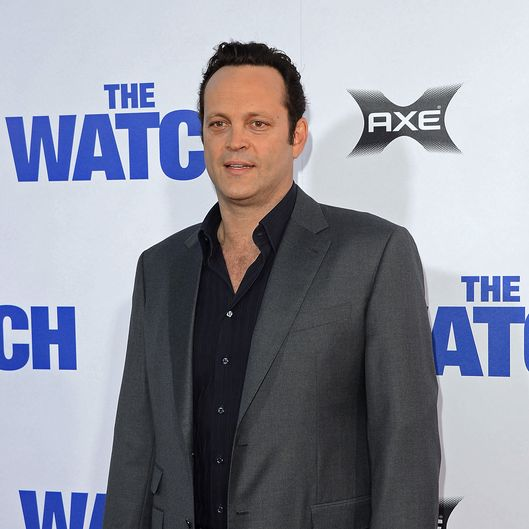Actor Vince Vaughn arrives at the premiere of Twentieth Century Fox's 'The Watch' at Grauman's Chinese Theatre on July 23, 2012 in Hollywood, California.