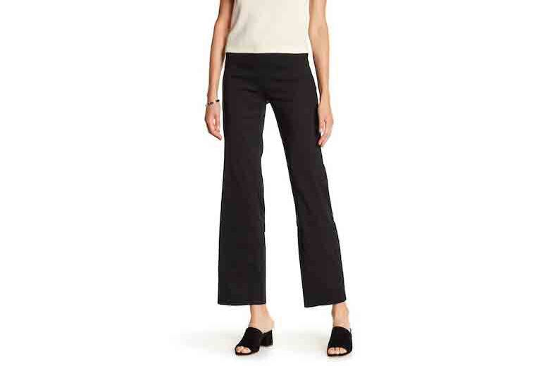 Eileen Fisher Straight Leg Linen Blend Pants