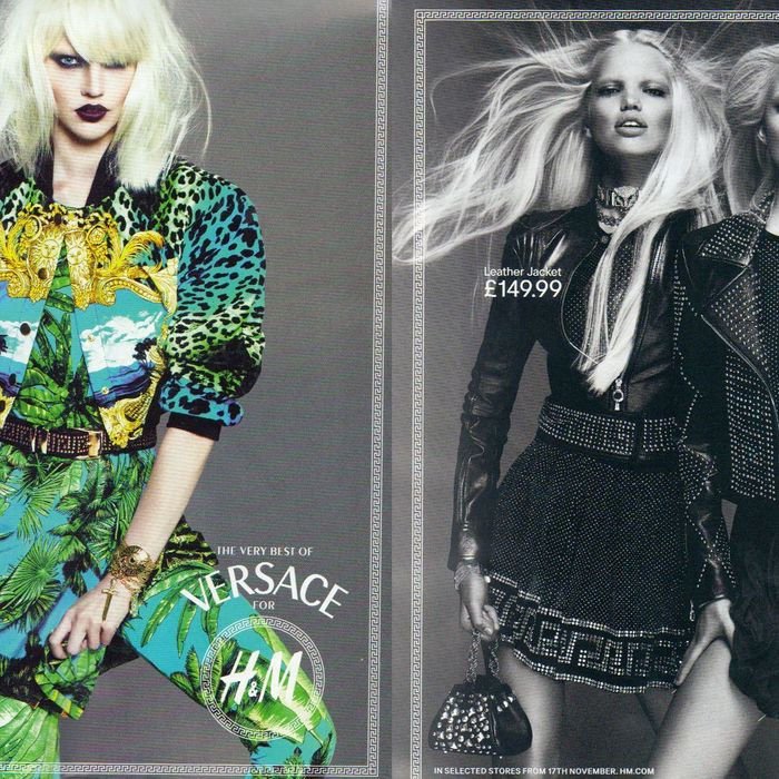 From left: Sasha Pivovarova, Daphne Groeneveld, and Lindsey Wixson.