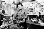 Julia Child, at her vacation home in Grasse, France, in 1978.