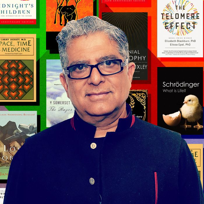 Deepak Chopras 10 Favorite Books