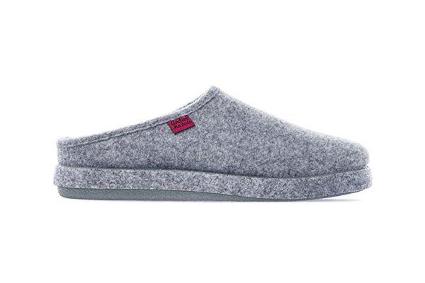 Andres Machado AM001Felt Slippers in Gray
