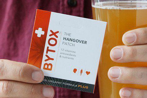 bytox hangover patch vitamin b