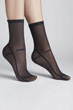 Darner Solid Mesh Sock