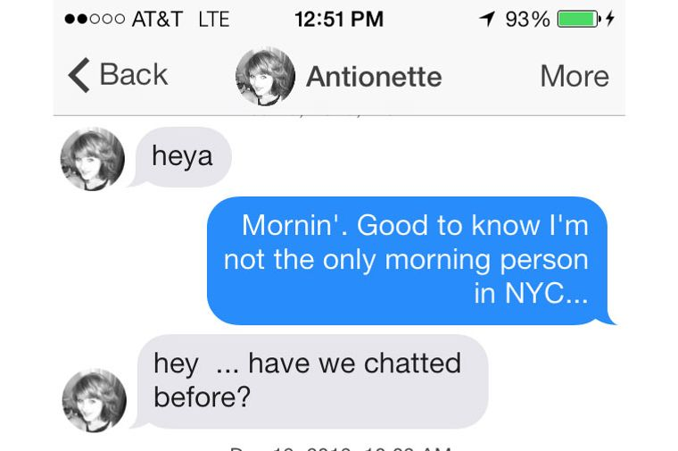 Tinder spam bot  Tinder is being taken over by spambots