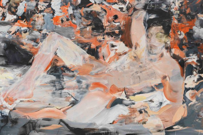 <i>Raspberry Beret</i>, by Cecily Brown.