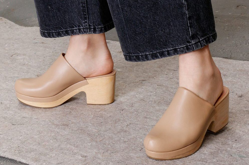 "Rachel Comey Bose Clog in ""Stone"""