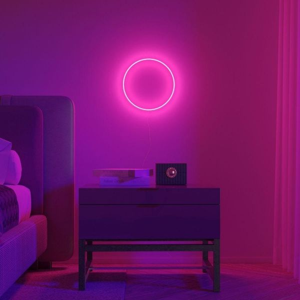 Circle 01 by Crosby Studios, LED Neon Sign