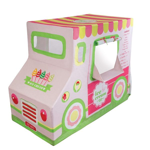 Cotton Canvas Ice Cream Truck Playhouse