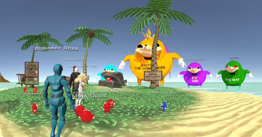 What Is VRChat and Who Is Ugandan Knuckles?