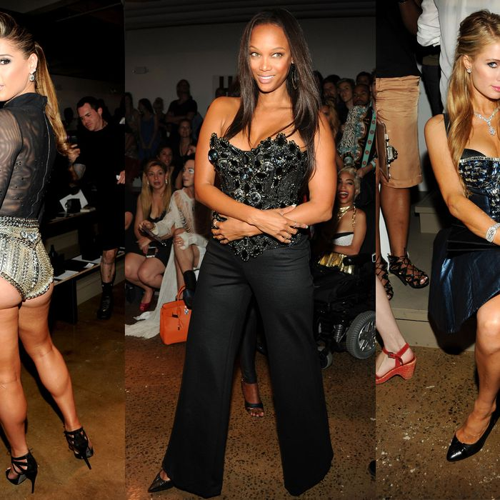 Tyra Banks Teenager: Fug Girls: Paris Hilton And Tyra Banks Neglect To Booty Tooch