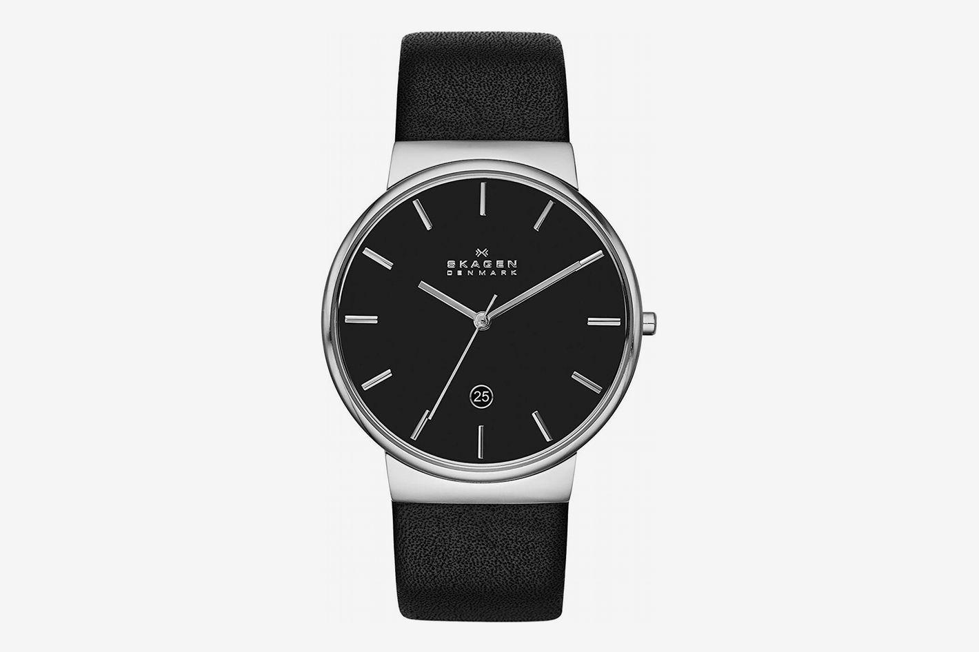 Skagen Men's Ancher Silvertone Watch