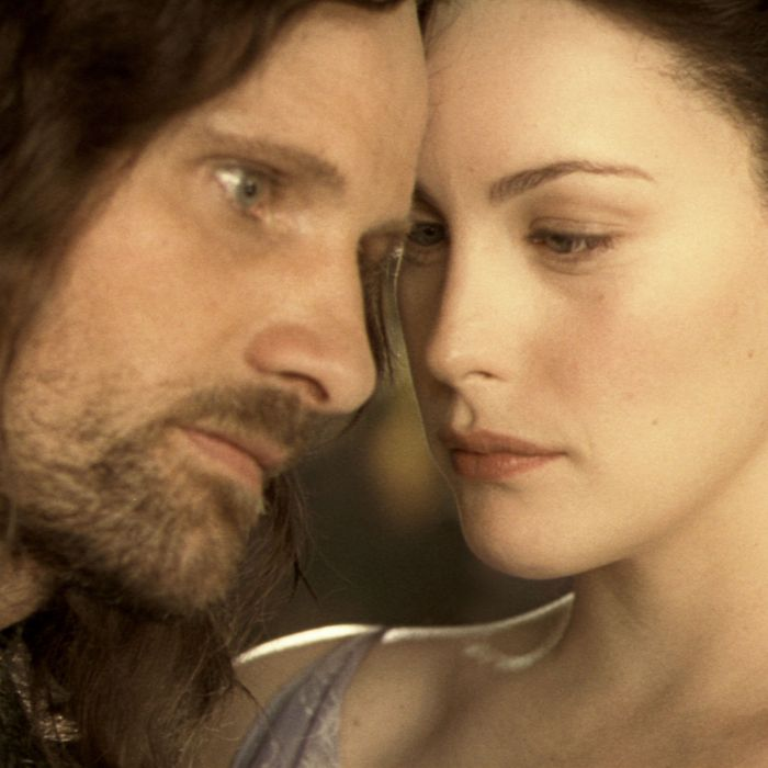 Aragorn and Arwen.