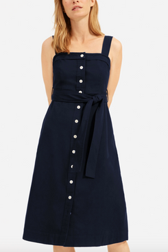 Everlane The Cotton Weave Picnic Dress