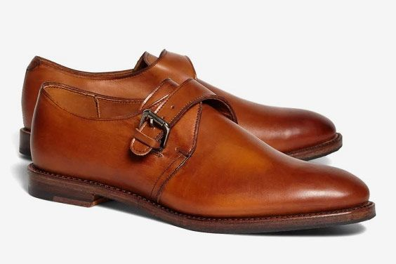 Brooks Brothers Monk Straps