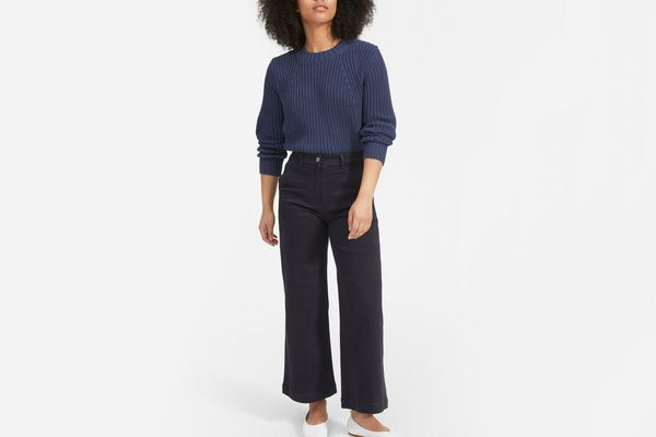 Everlane Texture Cotton Crew