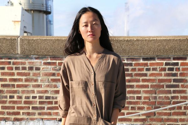 Tuck Coverall, Umber