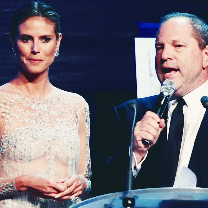 b521acd008 Heidi Klum Opens Up About Harvey Weinstein After He Loses Producer Credit  on Project Runway