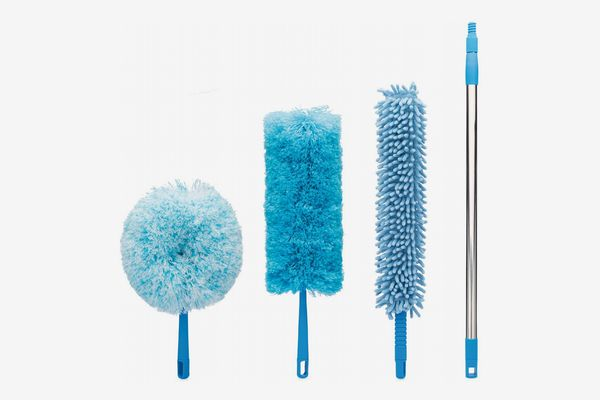 4 Piece Microfiber Duster With Extension Pole