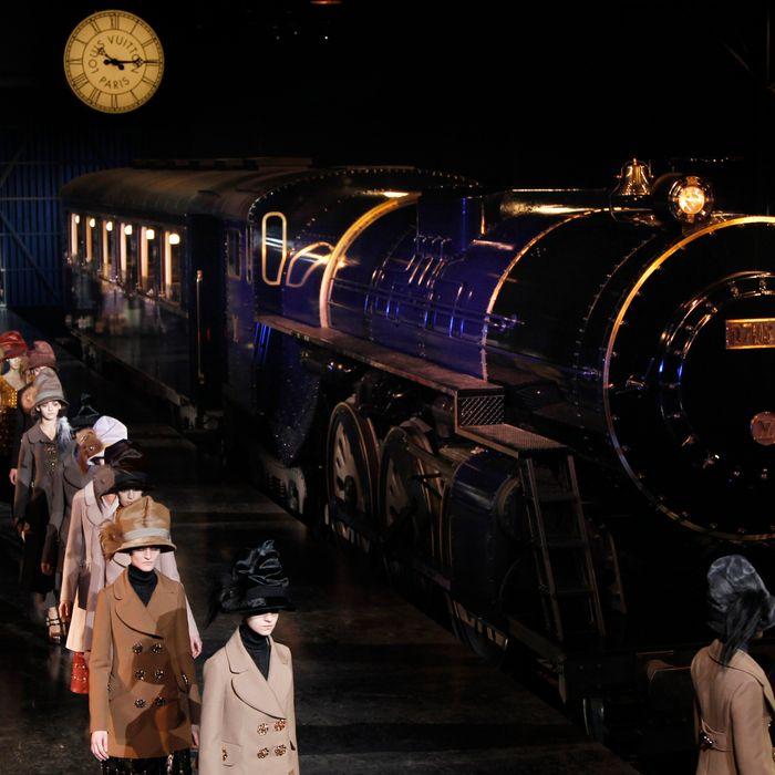 The Louis Vuitton train.