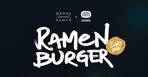 There's a Ramen Burger Knockoff in the Philippines