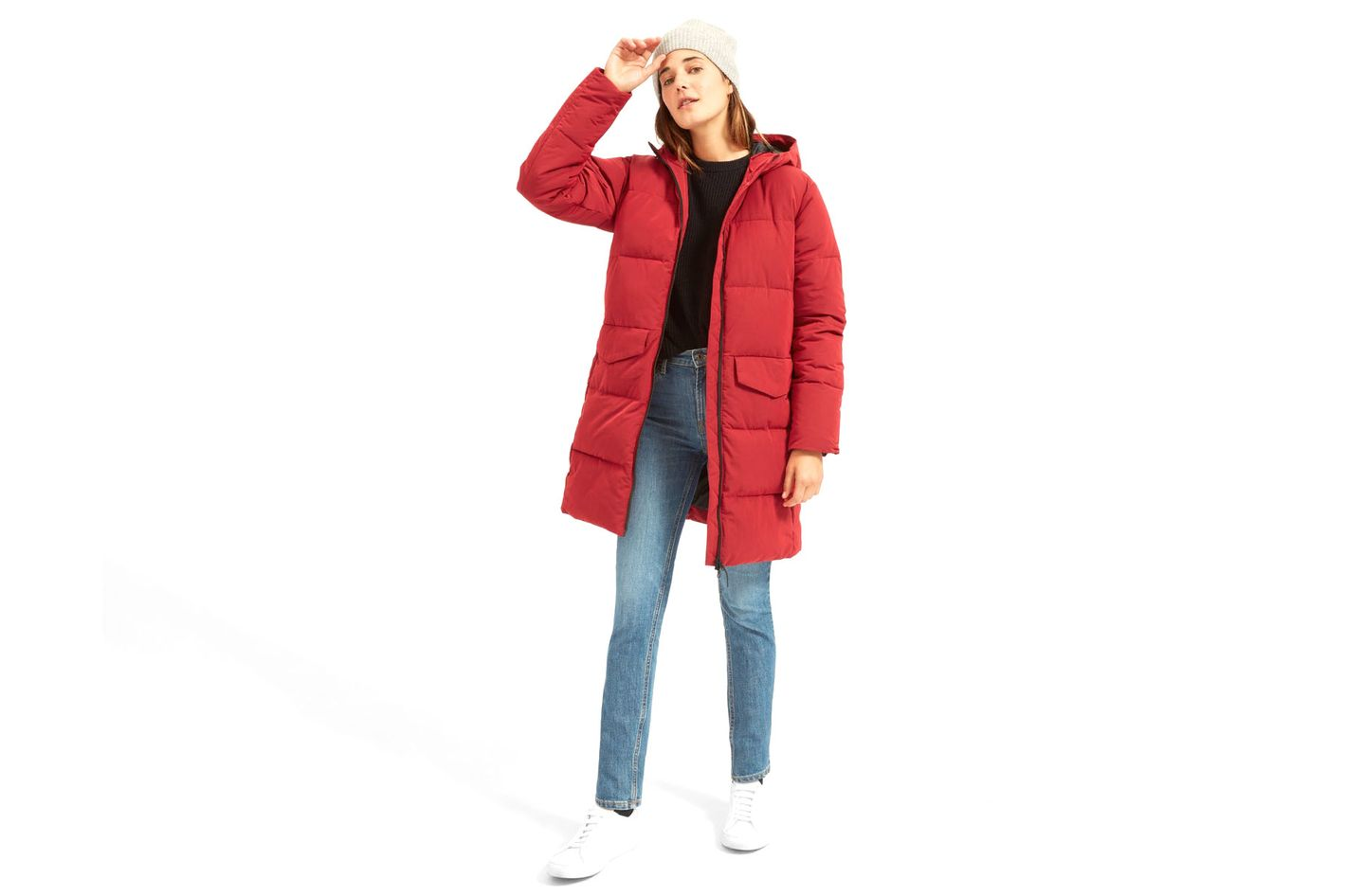 Everlane The Long Puffer Jacket