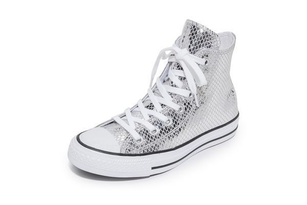 Metallic Sneakers Are the New Shoe