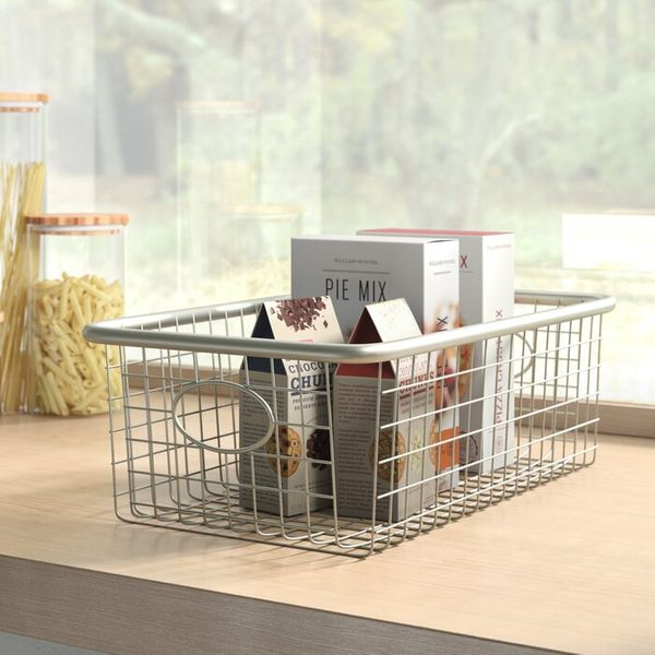 Wayfair Dotted Line Metal/Wire Basket