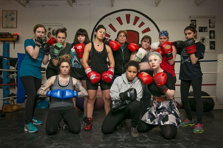 The Toronto Newsgirls Boxing Club.