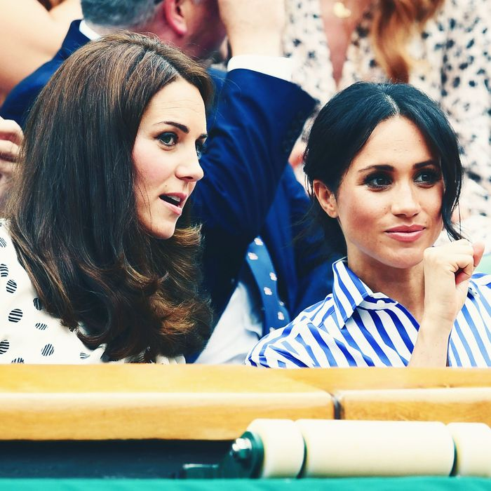 Are Kate Middleton And Meghan Markle Really Fighting