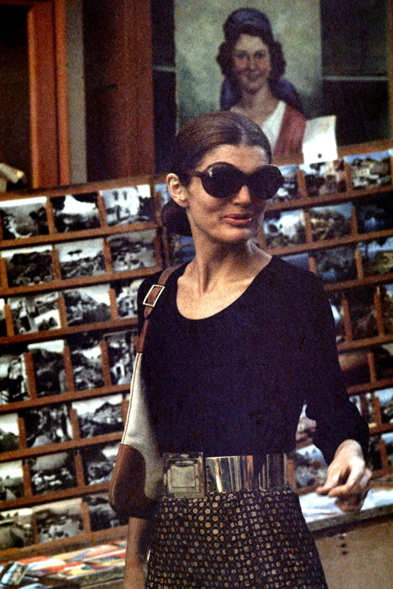 36ad712022 Ways Jackie O Influenced Fashion Time. Jackie O S Sunglasses 50 Most Iconic  Sunglasses Of All Time The Cut