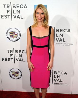 Actress Claire Danes attends the