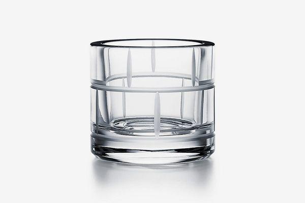 Tiffany & Co. Modern Bamboo Lead Crystal Votive