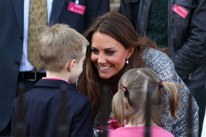 Kate Middleton, royal mom-to-be.