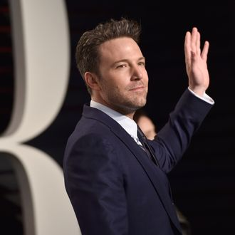 1854a61a899fb Ben Affleck Says His Back Tattoo Isn't Real, But What Is Reality?