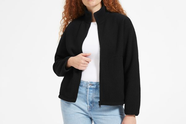 Everlane ReNew Fleece Full-Zip