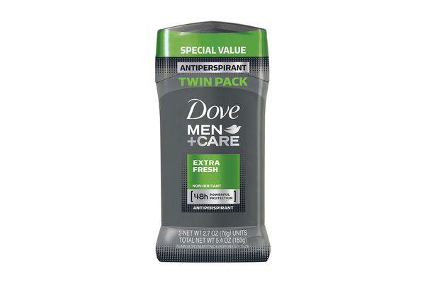 Dove Men+Care Antiperspirant Deodorant Stick, Extra Fresh (Pack of 2)
