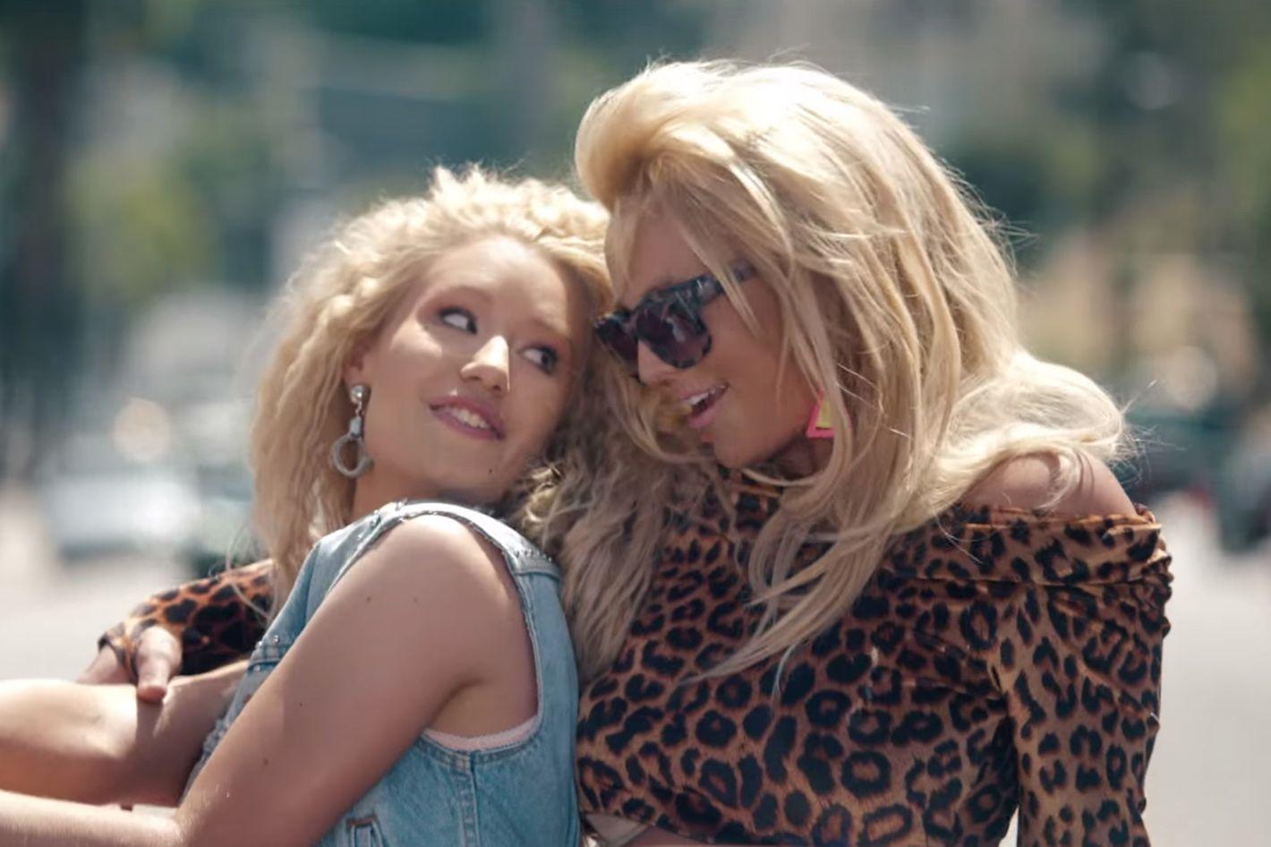 Britney Spears And Iggy Azalea S Pretty Girls Video Is The
