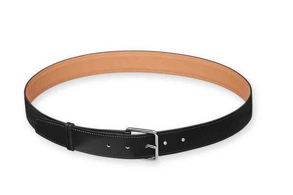 Hermès Lennox box calfskin belt