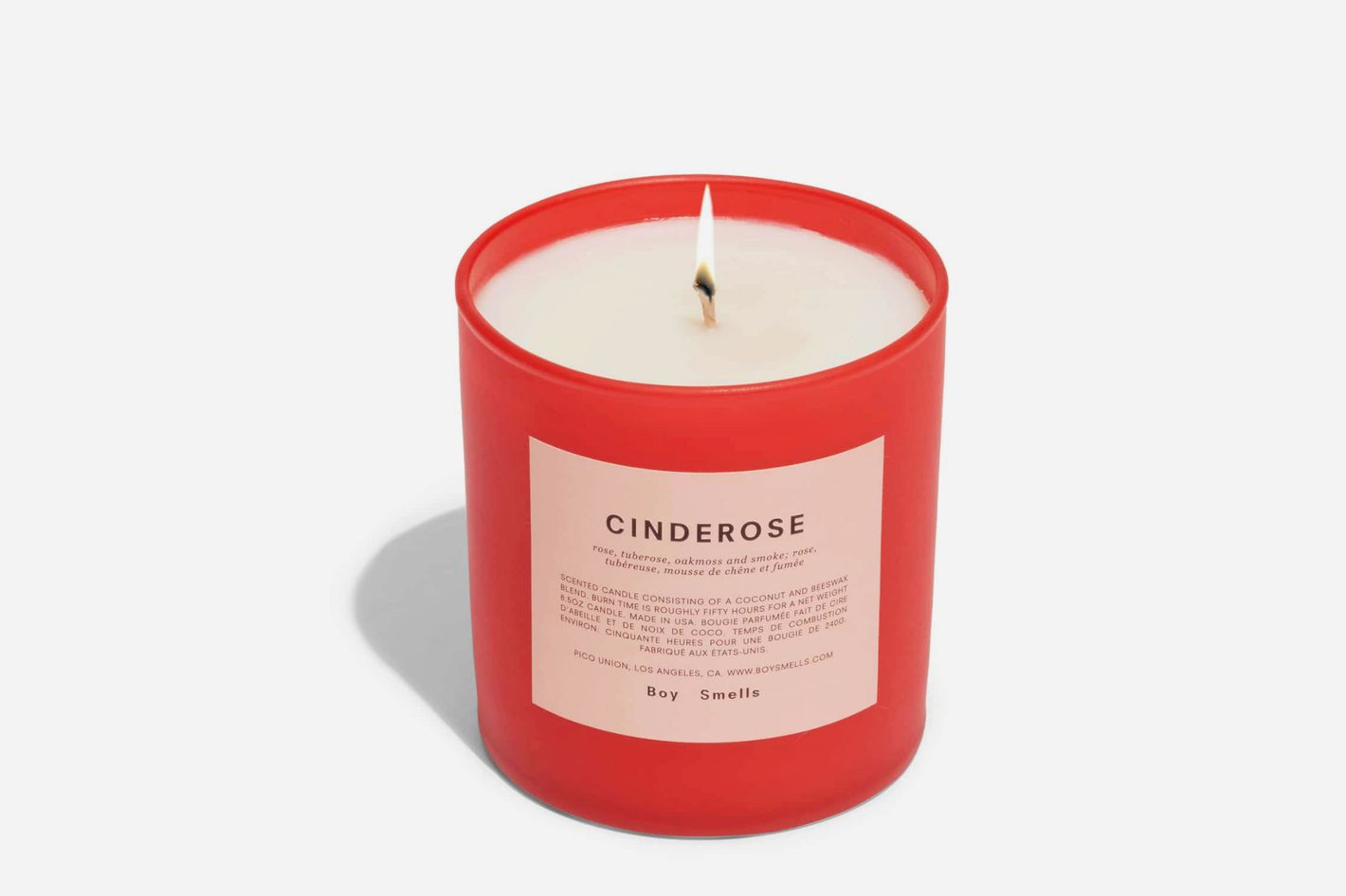 Boy Smells Cinderose Scented Candle